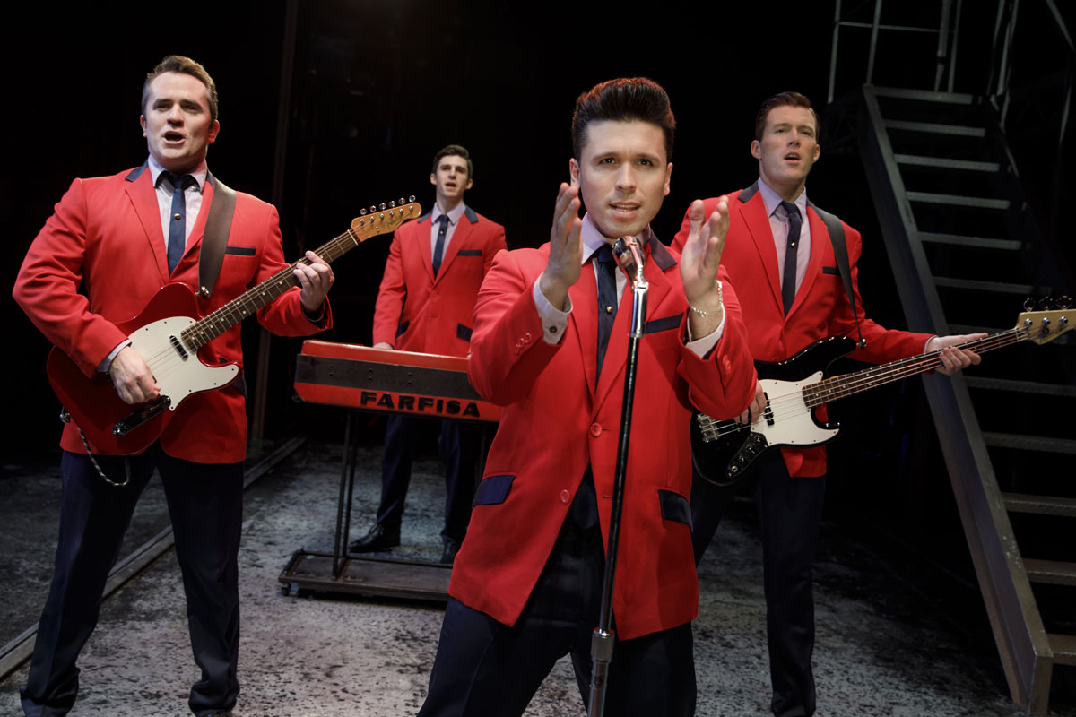 JERSEY BOYS IS HEADING BACK TO UTICA!