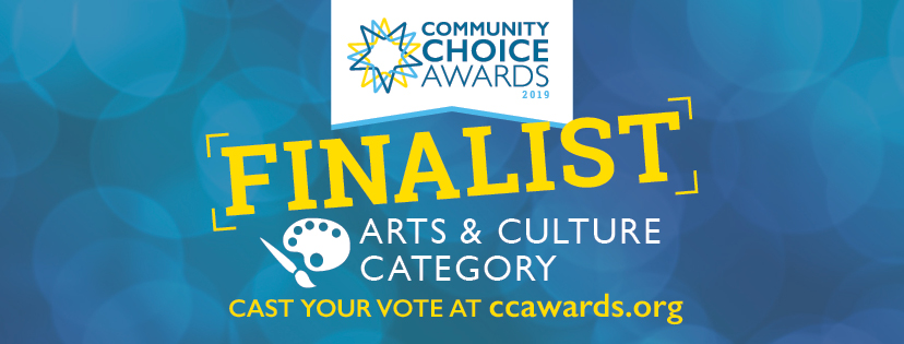 Community Choice Awards Finalist!