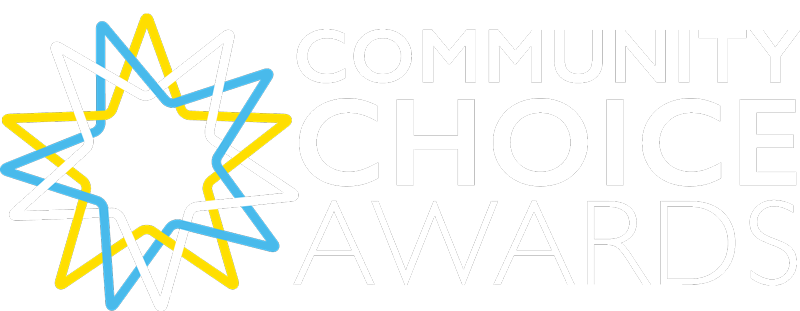Logo for the 2019 Community Choice Awards