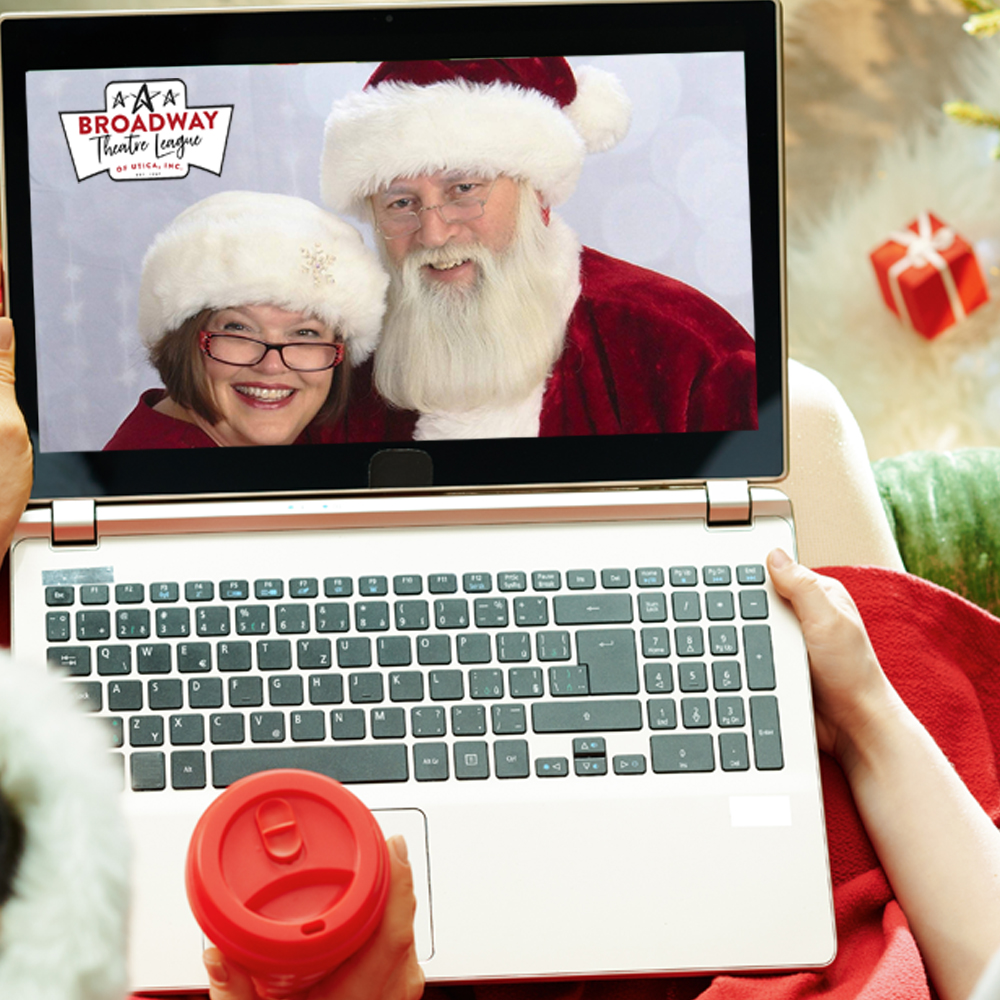 A VIRTUAL VISIT WITH SANTA LIVE AT THE NORTH POLE WITH BROADWAY UTICA