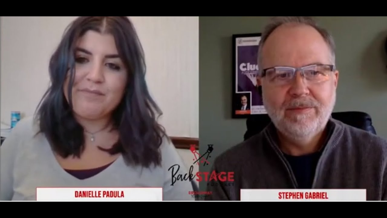 Backstage Podcast with guest Stephen Gabriel