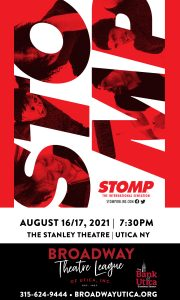 STOMP Playbill Cover